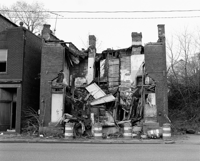 Home on Braddock Avenue Series: The Notion of Family, 2007. LaToya Ruby Frazier, American, born 1982. Gelatin silver print, 19 1/2 x 16 in. Image courtesy of Seattle Art Museum.