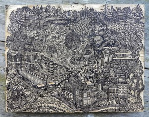 Community.  Valerie Lueth and Paul Roden, 2014.  Photo courtesy of the artists and Tugboat Printshop