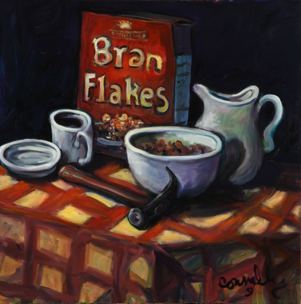 """Chuck Connelly, """"Bran Flakes"""" (2009).  Image courtesy of the artist."""