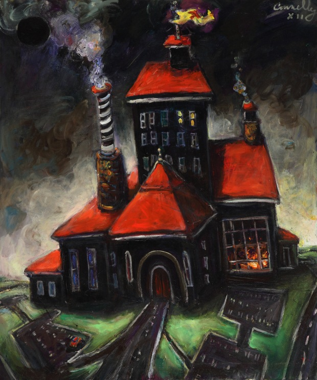 """Chuck Connelly """"Art Factory"""" (2012).  Image courtesy of the artist."""