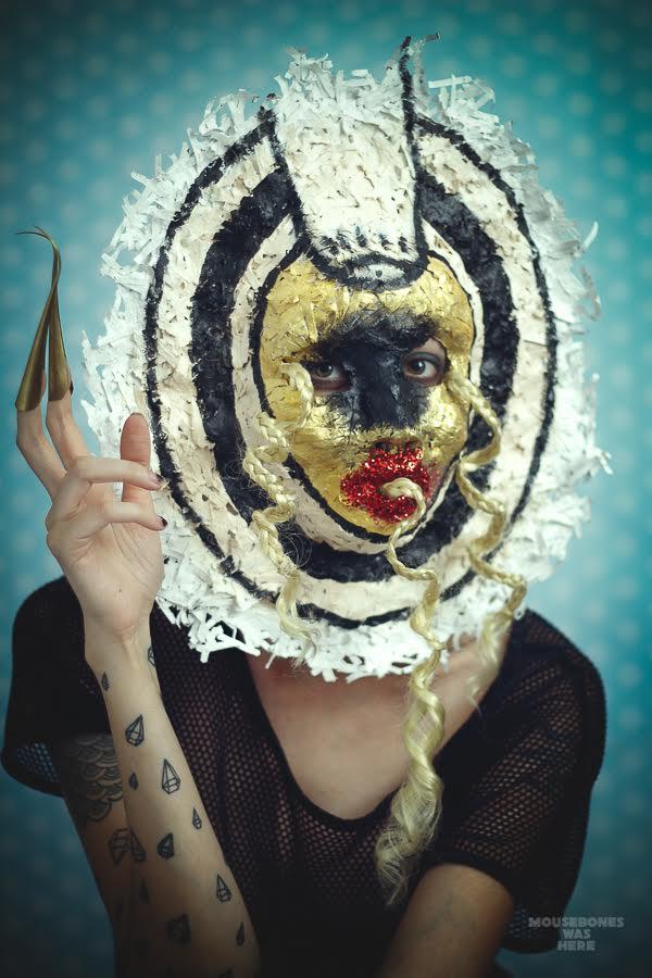 MouseBones, untitled mask, 2015.